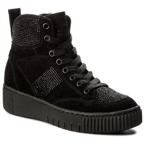 Półbuty damskie, Sneakersy TAMARIS - 1-25234-29 Black 001