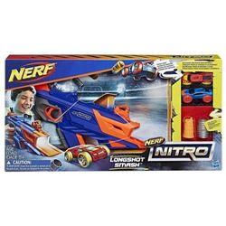 Nerf Nitro Longsh ot Smash - Hasbro. DARMOWA DOSTAWA DO KIOSKU RUCHU OD 24,99ZŁ