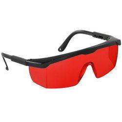 Okulary wzmacniające czerwone do laserów geo-FENNEL