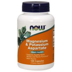 Magnesium Potassium Aspartate (Magnez Potas Tauryna) 120 kaps.