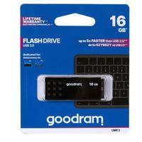 Flashdrive, GOODRAM Pendrive UME3 16GB USB 3.0 Czarny