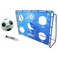 Piłka nożna, Bramka piłkarska BestSporting 213 x 152 x 76 cm + mata celnościowa i piłka