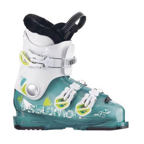 Buty narciarskie dla dzieci, SALOMON T3 RT GIRLY ROSE - buty narciarskie R. 23/23,5