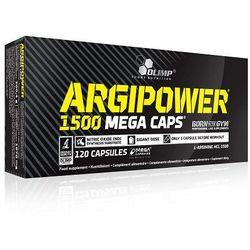 Olimp Argi Power Mega Caps L-Arginina Duża dawka 1500 mg 120 kaps. 12570