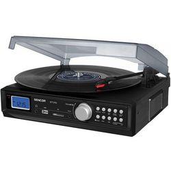 Gramofon SENCOR STT 211U Czarny + Zamów z DOSTAWĄ JUTRO! + DARMOWY TRANSPORT!