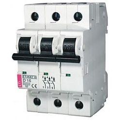 Wyłącznik nadprądowy ETIMAT10 3P C50 6kA ETI