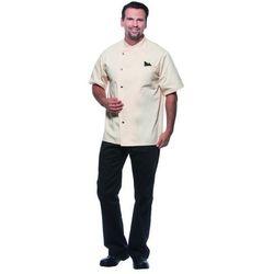 Bluza kucharska męska, rozmiar 66, kremowa | KARLOWSKY, Gustav