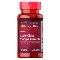 Puritan's Pride Apple Cider Vinegar Formula (Ocet jabłkowy) 90 tabl.