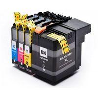 Tusze do drukarek, Komplet tuszy do Brother DCP-J100 MFC-J200 DCP-J105 TD-LC529XL CMYK