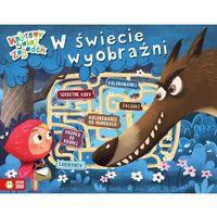 Książki dla dzieci, W ŚWIECIE WYOBRAŹNI KOLOROWY ŚWIAT ZAGADEK (opr. broszurowa)