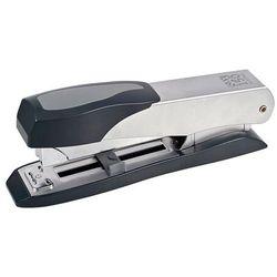 Zszywacz SAX150, zszywa do 45 kartek, front loader, regulowana głębokość, srebrny