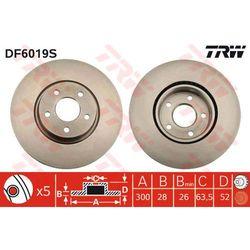 TARCZA HAM TRW DF6019S FORD MONDEO IV 1.6TI 07-, 2.0SCTI 10-, 1.8TDCI 07-