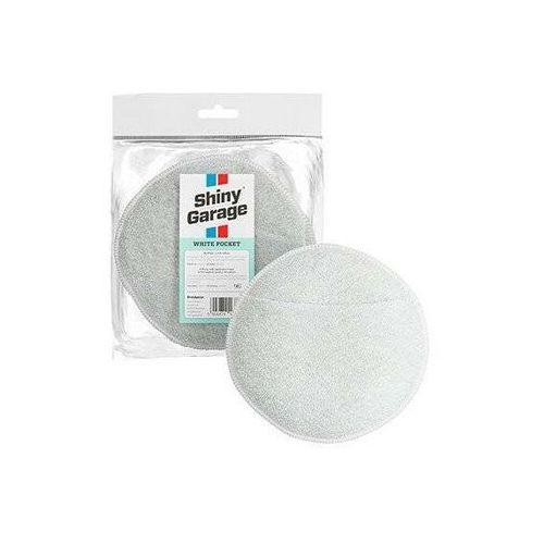 Pozostałe kosmetyki samochodowe, Shiny Garage White Pocket Microfiber Applicator