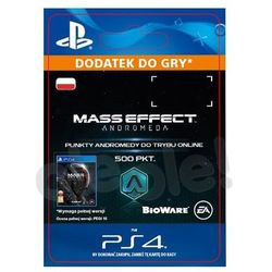 Mass Effect Andromeda 500 PKT [kod aktywacyjny]