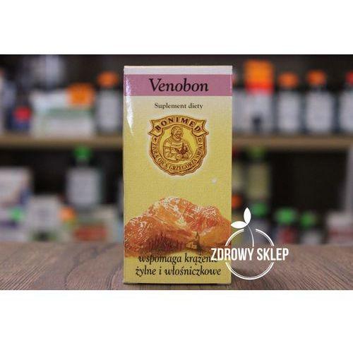 Pozostałe leki na układ krążenia, Venobon wspomaga krążenie żylne i włośniczkowe 60 kaps.