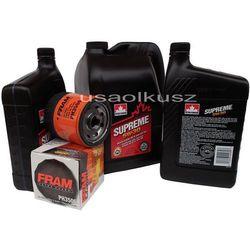 Olej 5W30 oraz filtr oleju silnika Cadillac Escalade 2002-2006