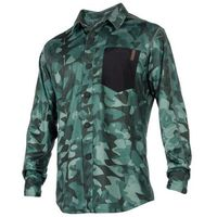 Pozostałe sporty wodne, Mystic Shred Blouse Quickdry LS (green allover) 2018