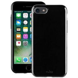 PURO Sunny Kit - Zestaw etui iPhone 7 + składane okulary przeciwsłoneczne (czarny)