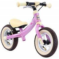 """Rowerki biegowe, Rowerek biegowy 10"""" air BIKESTAR obracana rama 2w1 hamulec kolor różowy"""