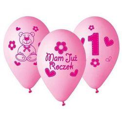 Balony z nadrukiem dla dziewczynki