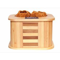 Sauna na podczerwień do stóp KIRVY - Dł.39 x Szer.35 x Wys.25.5cm - 145W