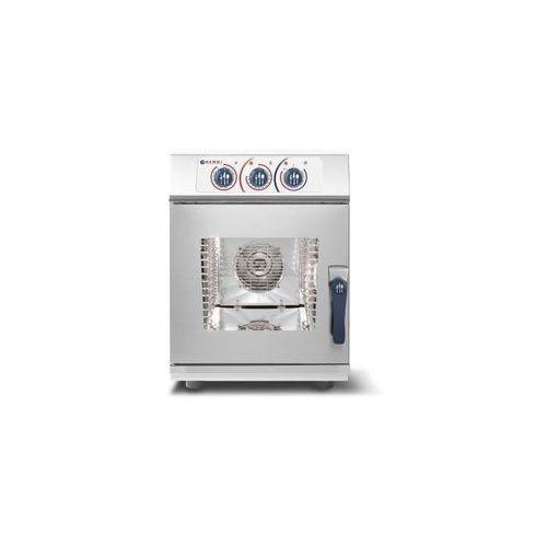 Piece i płyty grzejne gastronomiczne, Hendi Piec konwekcyjno-parowy | 10x GN 1/1 | elektryczny | sterowanie manualne - kod Product ID
