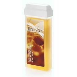 ItalWax Honey Miód - Transparentny wosk do depilacji w rolce 100ml
