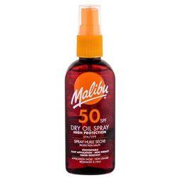 Malibu Dry Oil Spray SPF50 preparat do opalania ciała 100 ml dla kobiet