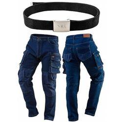 Spodnie robocze DENIM wzmocnienia na kolanach rozmiar M 81-228-M
