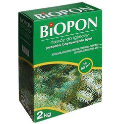 Nawóz przeciwko brązowieniu igieł Biopon 2 kg