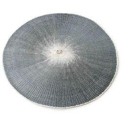 Okrągła szara mata na stół naturalna eco 38cm