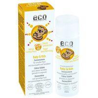 Kosmetyki z filtrem dla dzieci, ECO Cosmetics – Krem na słońce faktor SPF45 dla dzieci i niemowląt 50ml