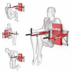 Poręcz treningowa do ćwiczeń mięśni brzucha ścienna KSH004/SK