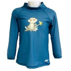 Bluzka kąpielowa koszulka dzieci 108cm filtr UV50+ - Petrol Jungle \ 108cm