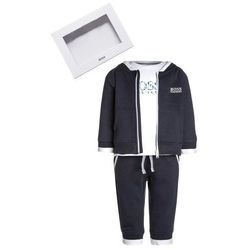 BOSS Kidswear BABY JOGGINGANZUG Prezenty z okazji narodzin marine