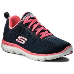 Buty SKECHERS - Break Free 12757/NVHP Navy/Hot Pink