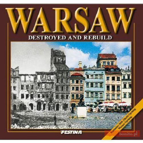 Albumy, WARSZAWA ZBURZONA I ODBUDOWANA WER.ANG TW (opr. twarda)