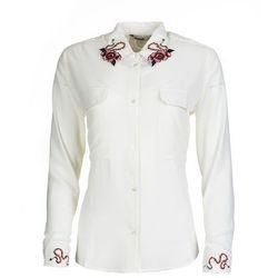 Desigual koszula damska Melancolia S biały - BEZPŁATNY ODBIÓR: WROCŁAW!