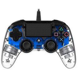 Kontroler BIG BEN Nacon Compact Controller Przezroczysty Niebieski do PS4