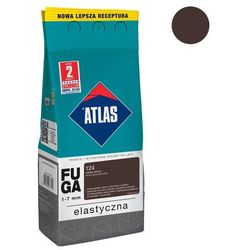 Fuga cementowa 124 ciemne wenge 2 kg ATLAS