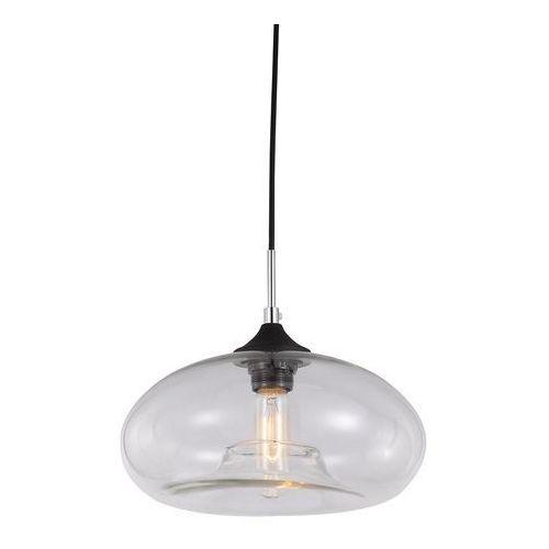 Lampy sufitowe, Skandynawska LAMPA wisząca VALIO MDM2093/1 C Italux szklana OPRAWA zwis szkło dymione