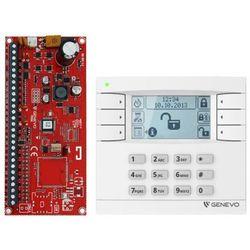 "ZESTAW ""GENEVO"" PRiMA12SET centrala alarmowa PRiMA 12 z manipulatorem PRiMA 6 LCD"