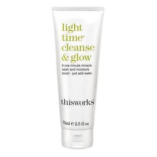 Inne kosmetyki do demakijażu, Light Time Cleanse & Glow - Oczyszczający balsam rozświetlający