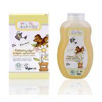 Kosmetyki do kąpieli dla dzieci, Szampon i płyn do kąpieli 2w1 proteiny ryżu i ekstrakt z hibiskusa 400 ml Baby Anthyllis