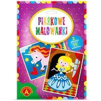 Kolorowanki, Malowanka Piaskowa Księżniczka Jednorożec 2095