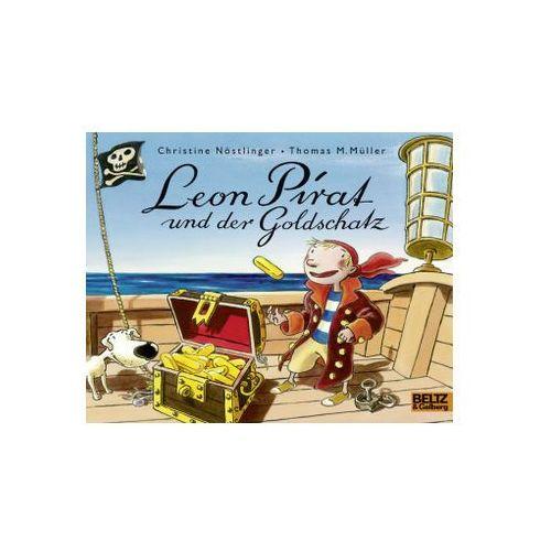 Pozostałe książki, Leon Pirat und der Goldschatz Nöstlinger, Christine