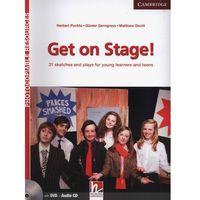 Książki do nauki języka, Get on Stage! Teacher's Book + DVD-ROM Sketches And Plays For Young Learners And Teenagers (opr. miękka)