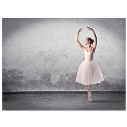 Fototapeta - Baletnica niczym z obrazu Degas bogata chata