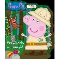 Książki dla dzieci, Peppa Pig. Przyjaciele z bajki. Przygoda w dżungli! (opr. miękka)
