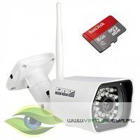 Kamery przemysłowe, KAMERA IP WIFI FULLHD 1080P + microSD 8GB